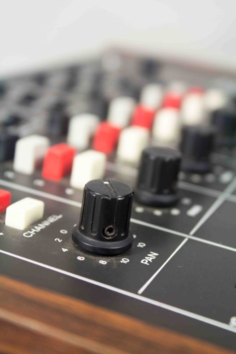 Get a quote for the TevSound studio - Teac model 2 pan knobs